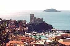 Lerici and the Tino Island in the background